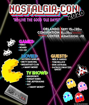 Nostalgia-Con Poster