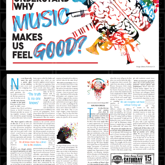 Magazine Two-Page Spread