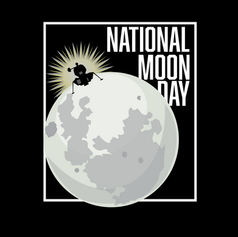 National Moon Day Logo