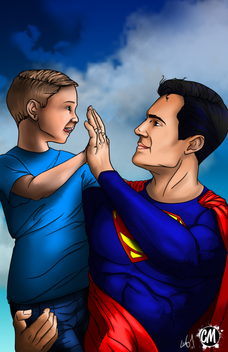 Superman and Kid