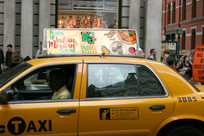 Taxi Cab Roof Ad - Example
