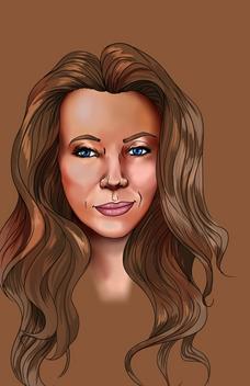 Brown Portrait