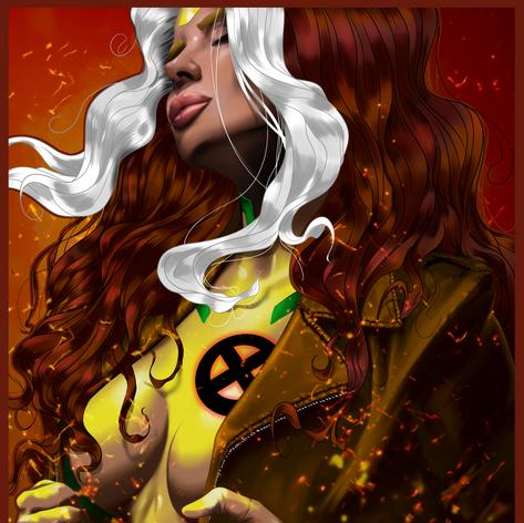 X-Men's Rogue.