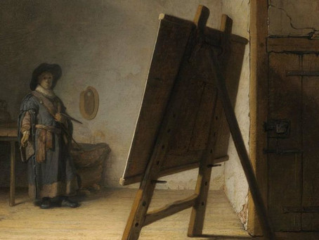 "Boston's Best: ""Artist in his Studio"" by Rembrandt"