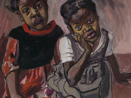 "Boston's Best: ""Two Girls, Spanish Harlem"" by Alice Neel"