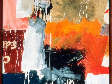 "Boston's Best: ""Second Time Painting"" by Robert Rauschenberg"
