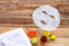 natural aroma sheet mask extract honey,