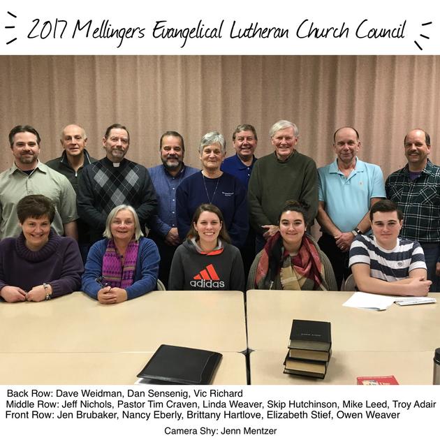 2017 Church Council