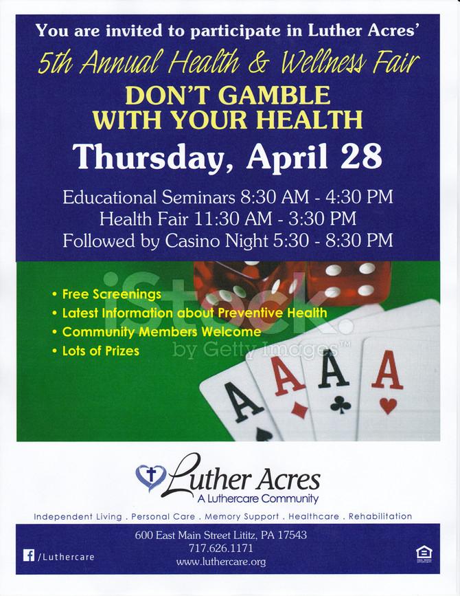 Luther Acres Annual Health and Wellness Fair, Thursday, April 28th