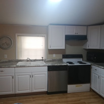 Cabinets and counter