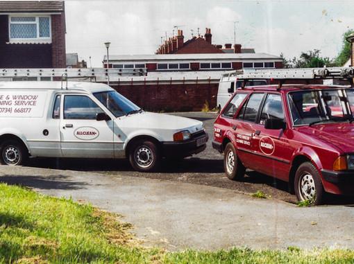 Some of the original fleet
