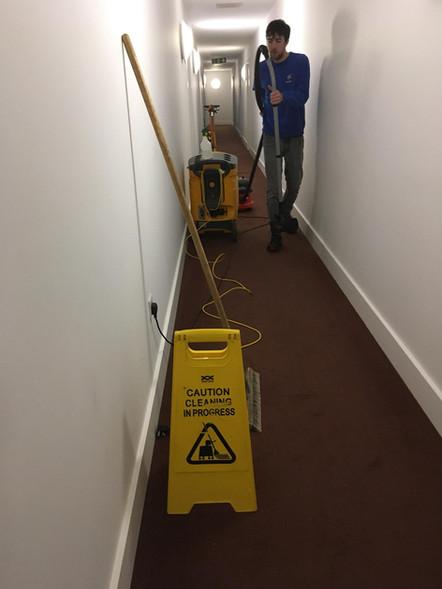 Carpet cleaning pt. 2