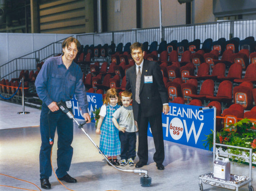 ACP demostration at the Cleaning Show at the now NEC 1999