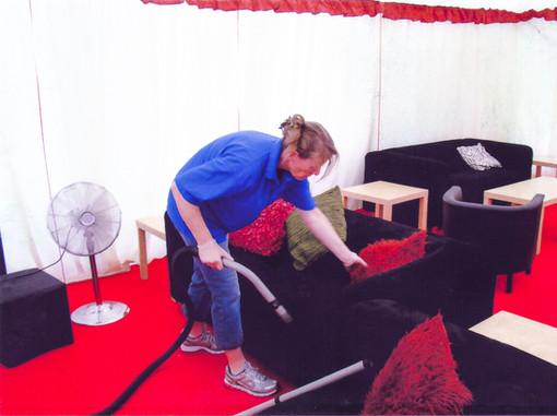 Cleaning for FSC at Hneley Regatta ~2009