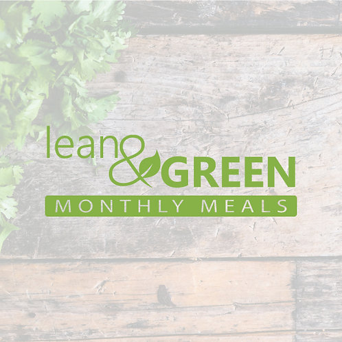 8 Weeks of Lean & Green Meals - Back to School Edition
