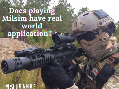 Milsim vs reality: Is there any application to the real world?