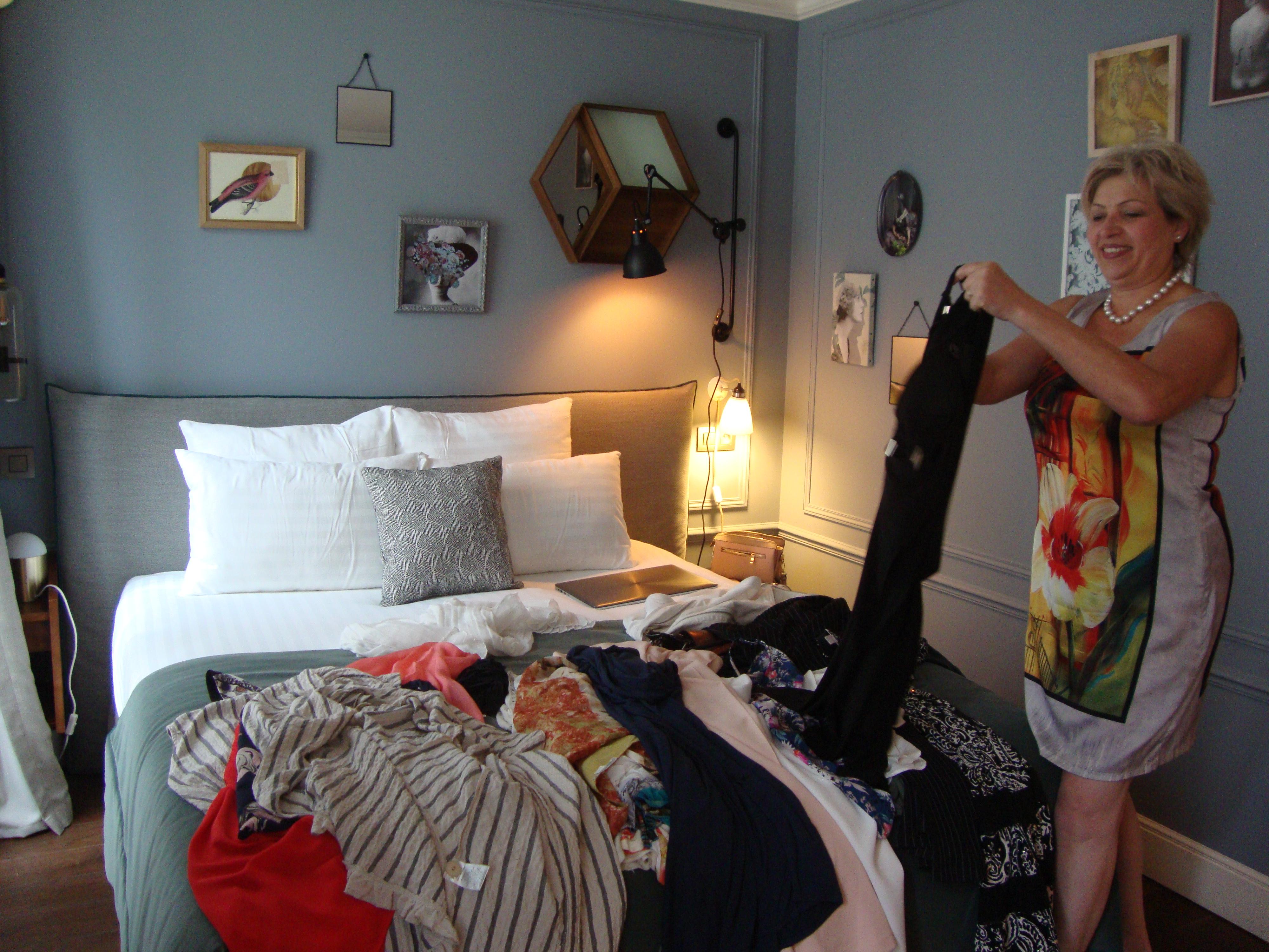 Tri de garde-robe à domicile