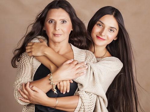 Séances beauté duo mère-fille