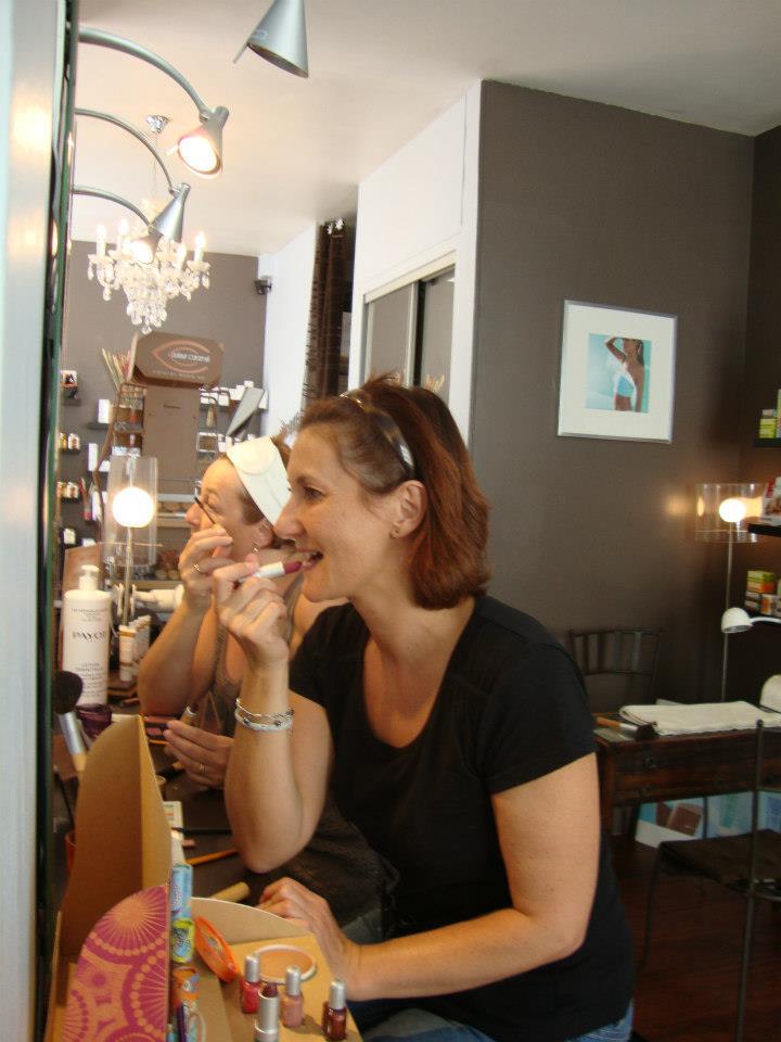 Cours de Maquillage à deux Paris