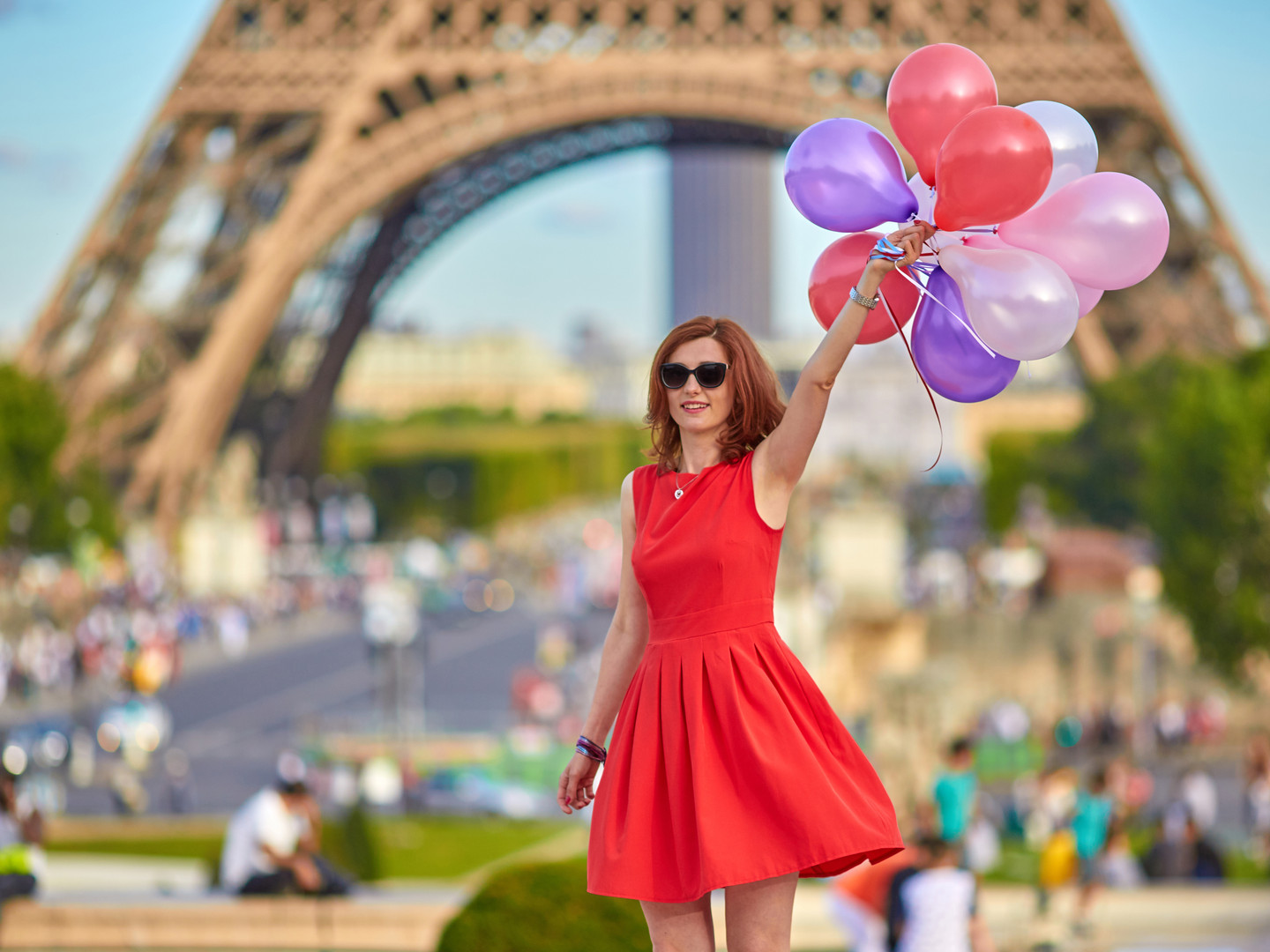 Young woman with colorful balloons..jpg