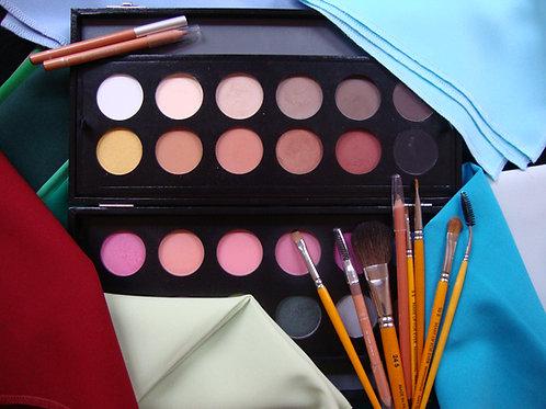Etude de vos couleurs visage + Cours de maquillage