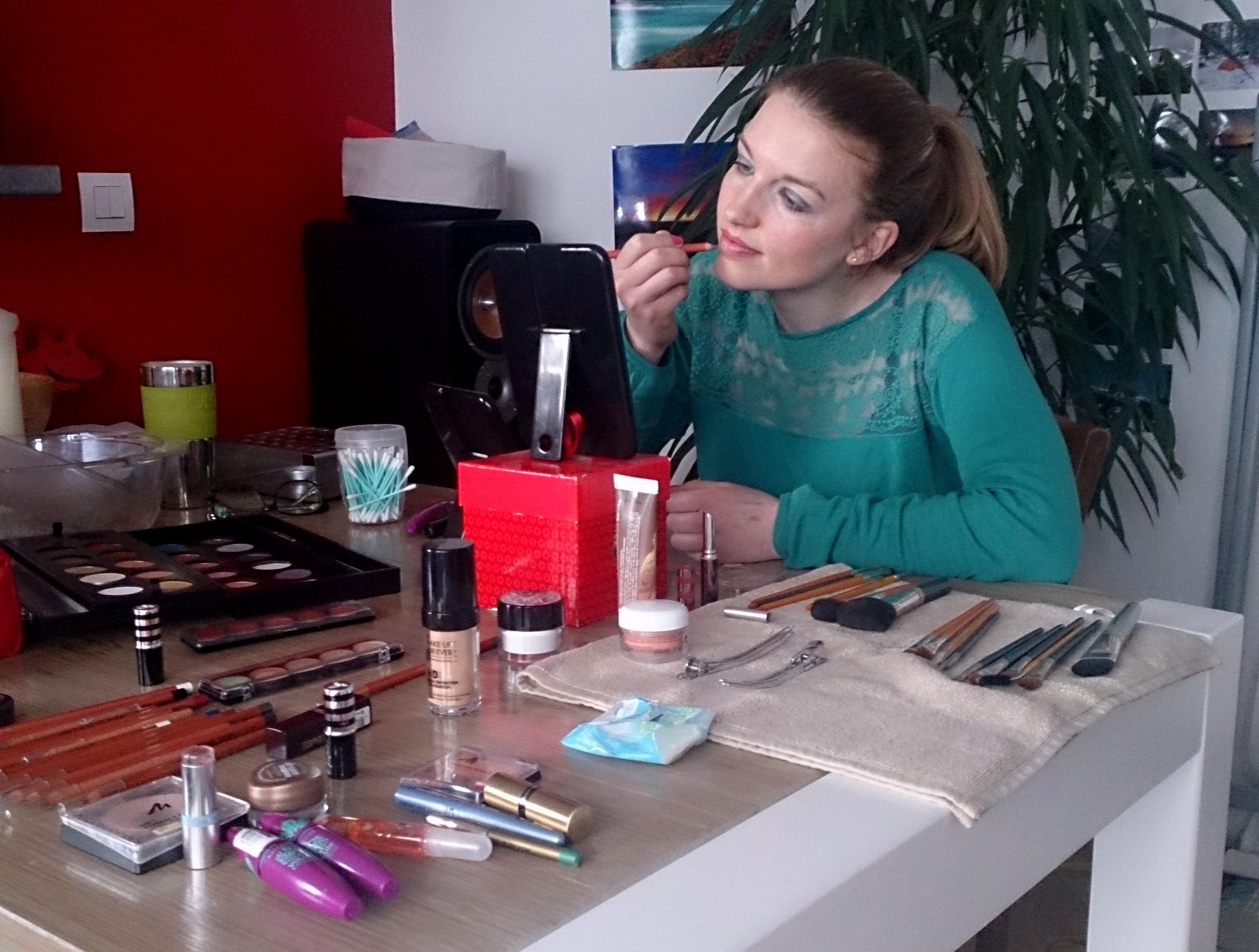 Cours de Maquillage à Domicile