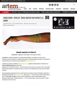 Article - Revue Artem