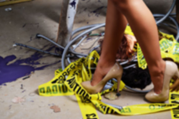 Under construction, salon, heels, hair, paint, Robert Perry, 360style