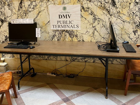Monroe County DMVs Announce New Terminals for Online Transactions