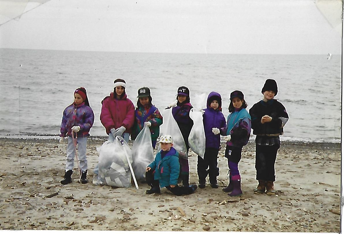 1993 Durand Eastman Beach Clean Up