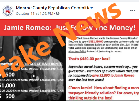 Monroe County GOP Must Remove Social Media Attack on Local Workers