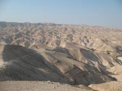 Judea Desert and Dead Sea