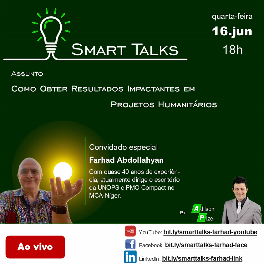 Smart Talks: Como Obter Resultados Impactantes em Projetos Humanitários