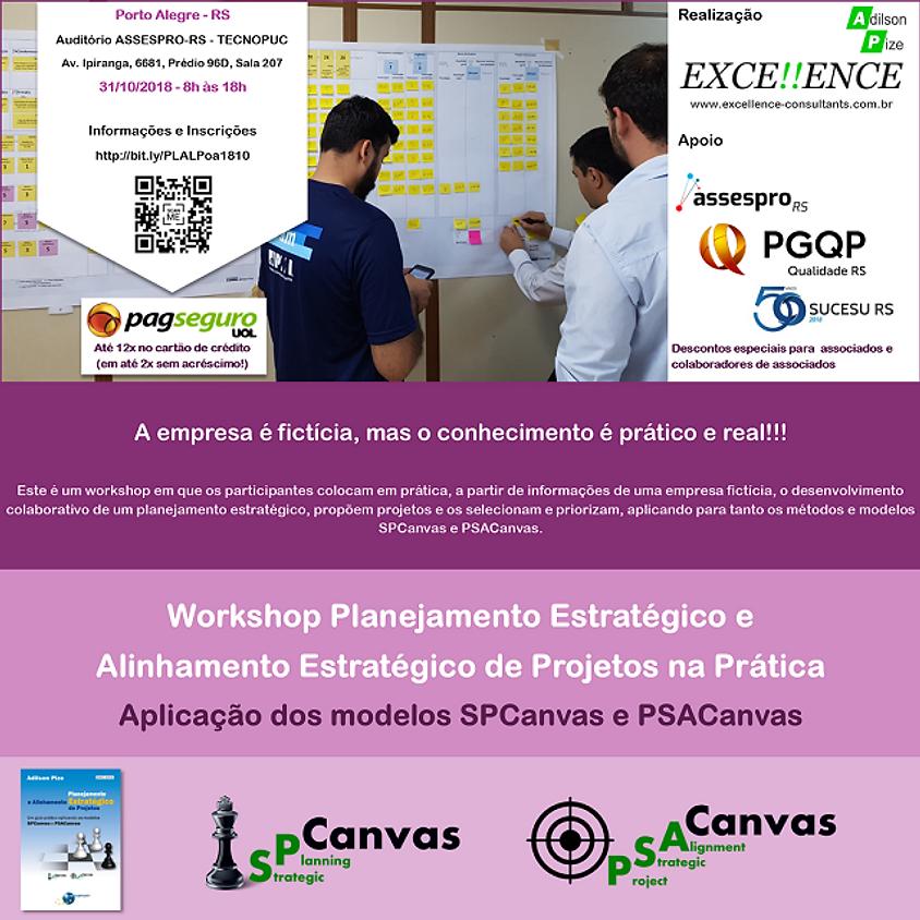 Planejamento Estratégico e Alinhamento Estratégico de Projetos na Prática - Aplicação dos Modelos SPCanvas e PSACanvas