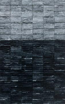 Black Sea l, 2019, Mixed media on canvas 65 x 40 cm