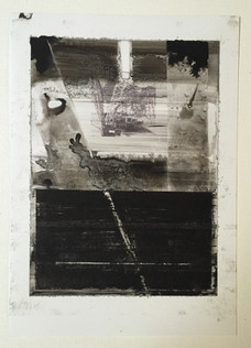 Untitled, 2016, Inks and photo printing on technical photo paper 21 x 19 cm