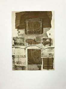 Untitled, 2015, Engraving 54 x 40 cm