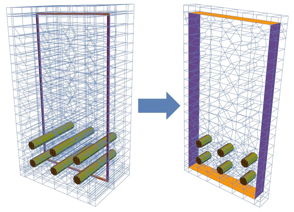 2D and 3D Unit Cells (RVEs)