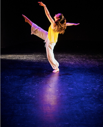 "Natalie Boegel in Samantha Hopkin's ""Burst"" photo by Matt Roth"