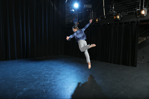 "Natalie Boegel in Adriane Fang's ""conflict/resolve"" photo by Peter Yesley"