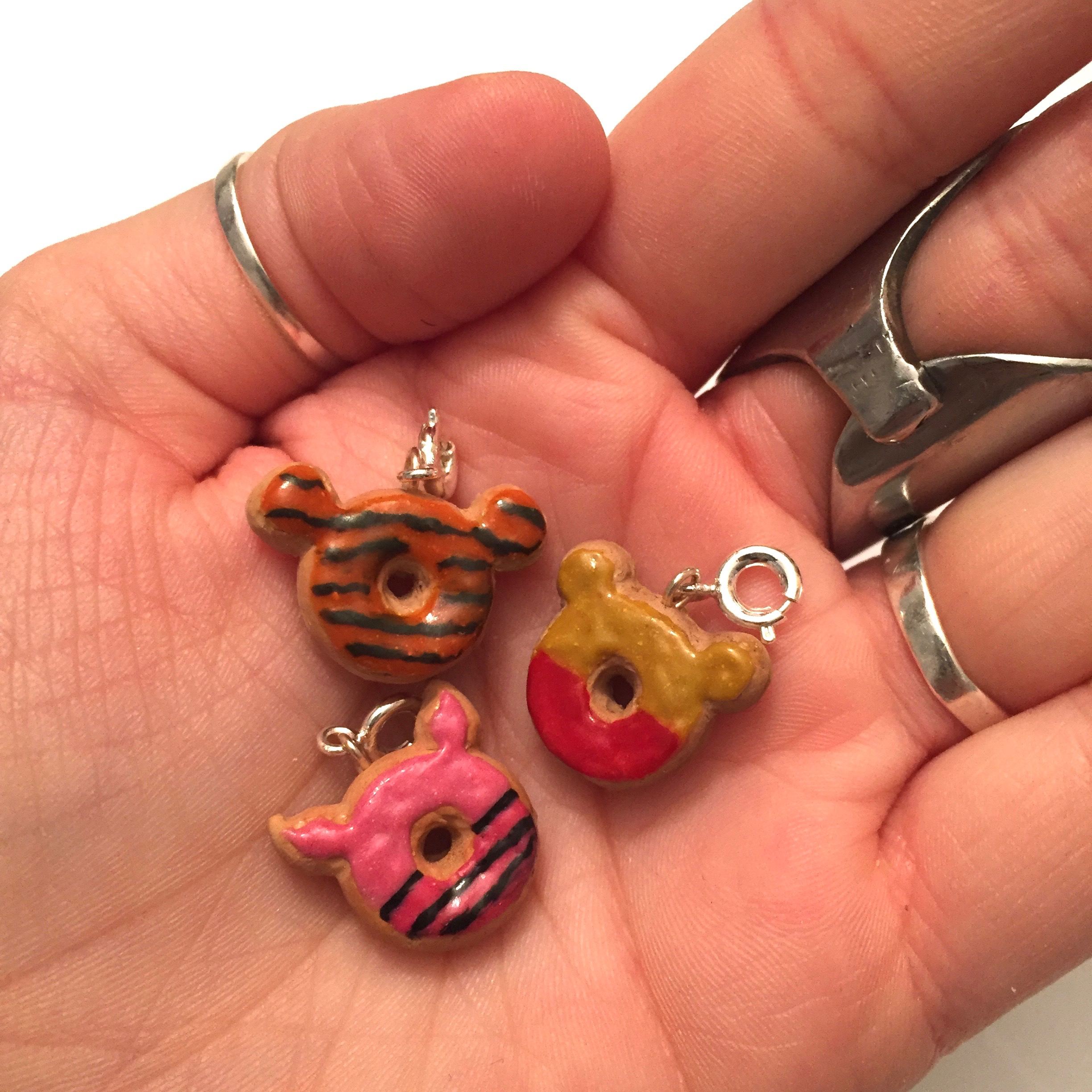 Winnie the Pooh Inspired Charms