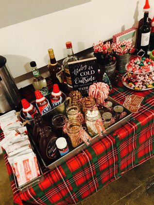 Holiday Party Spread