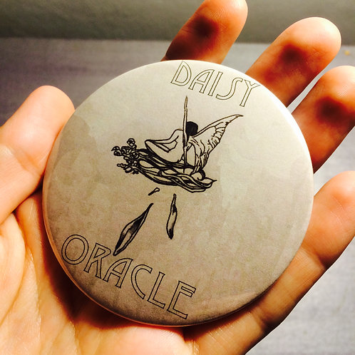 Daisy Oracle Pin or Magnet