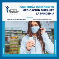 CONTINÚA TOMANDO TU MEDICACIÓN DURANTE LA PANDEMIA
