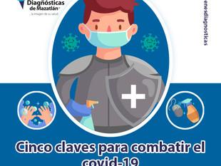 CINCO CLAVES PARA COMBATIR EL COVID-19