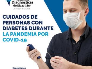 CUIDADOS DE PERSONAS CON DIABETES DURANTE LA PANDEMIA POR COVID-19