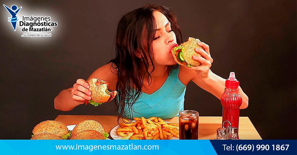 La comida chatarra y su relación con la Hepatitis y el Cáncer de Hígado