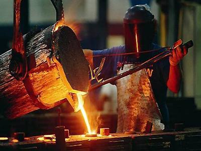 Trabajo con fundición de metales