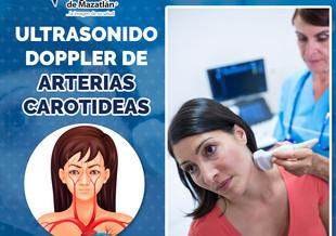 ULTRASONIDO DOPPLER DE ARTERIAS CAROTIDEAS