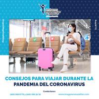 CONSEJOS PARA VIAJAR DURANTE LA PANDEMIA DEL CORONAVIRUS
